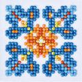 Diamond Dotz Diamond Embroidery Art Kit 4.75\u0027\u0027X4.75\u0027\u0027-Autumn Mandala 1
