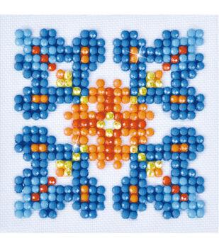 Diamond Dotz Diamond Embroidery Art Kit 4.75''X4.75''-Autumn Mandala 1