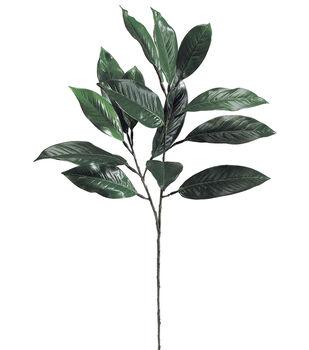Bloom Room 28'' Magnolia Leaf Spray-Green