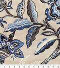 Waverly Upholstery Fabric 13x13\u0022 Swatch-Key of Life Indigo
