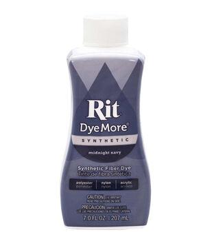 Rit DyeMore Synthetic Fiber Dye 7oz-Midnight Navy