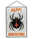 Maker\u0027s Halloween Wall Decor-Spider & Happy Haunting