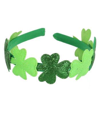 St. Patrick's Day Decor Shamrock Headband