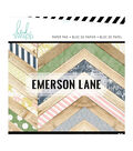 Heidi Swapp Single-Sided Paper Pad 6\u0022X6\u0022 36/Pkg-Emerson Lane, 18 Designs