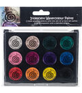 Cosmic Shimmer Watercolour Paint Pallet Set-Iridescent Carnival Brights