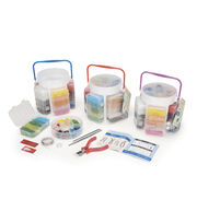 Jewelry Beading Basics Storage Caddy Kit, , hi-res