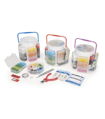 Jewelry Beading Basics Storage Caddy Kit