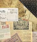 Transatlantic Travel Double-Sided Cardstock 12\u0022X12\u0022-Air Mail