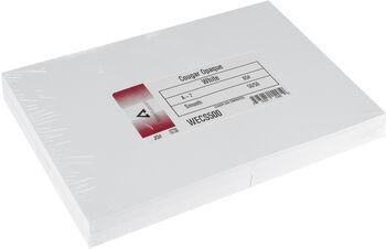 """Leader A7 Greeting Cards w/Envelopes (5.25""""X7.25"""") 50/Pkg-White"""