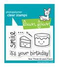 Lawn Fawn Clear Stamps 3\u0022X2\u0022-Year 3
