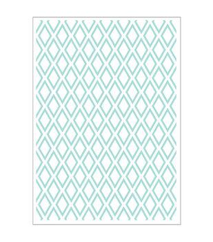 Park Lane 5''x7'' Embossing Folder-Diamond