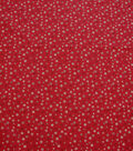 Quilter\u0027s Showcase Cotton Fabric-Little Flowers on Red