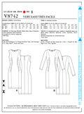 Mccall Pattern V8742 E5 (14-16--Vogue Pattern