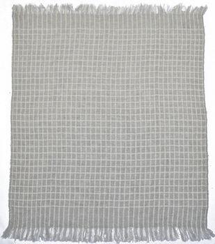 Simply Autumn 50''x60'' Throw-Gray Plaid