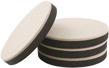5 Inch Round Felt Reusable Supersliders