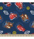 Disney PIXAR Cars Print Fabric-Cars Allover