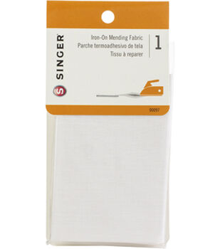 """Singer Iron-On Mending Fabric 7""""X16"""" Multipack of 24"""