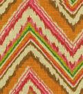 Home Decor 8\u0022x8\u0022 Fabric Swatch-Dena Chevron Charade Gypsy