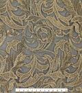 Fashion Apparel Fabric 52\u0022-Heavy Scroll Embroidery Gold