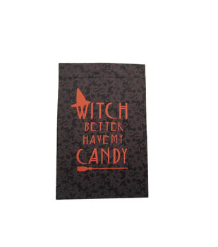 Maker's Halloween 12''x18'' Flag-Witch Better Have My Candy