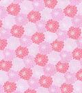 Keepsake Calico Cotton Fabric 43\u0027\u0027-Pink Tonal Packed Floral