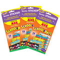School Days Sparkle Stickers Variety 432 Per Pack, 3 Packs