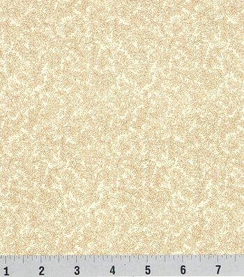 Keepsake Calico Cotton Fabric -Vinery on Cream
