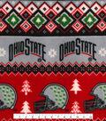 The Ohio State Buckeyes Fleece Fabric-Fair Isle