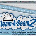 Lite Steam-A-Seam 2 Double Stick Fusible Web-18\u0022X25yd