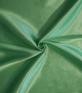 "Glitterbug Solid Satin Fabric 45""-Spring Green"