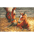 Gold Collection Petite Good Morning Counted Cross Stitch Kit-7\u0022X5\u0022 18 Count