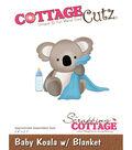 Cottagecutz Die-Baby Koala With Blanket