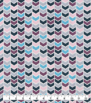 Snuggle Flannel Fabric-Pastel Geometric