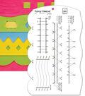 June Tailor Fancy Fleece Slotted Ruler-9-1/2\u0022x16\u0022