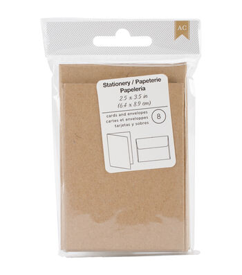 American Crafts Cards & Envelopes 2.5''x3.5''