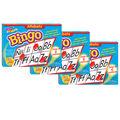 TREND enterprises, Inc. Alfabeto (Spanish) Bingo Game, Pack of 3