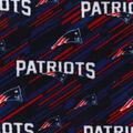 New England Patriots Fleece Fabric -Logo