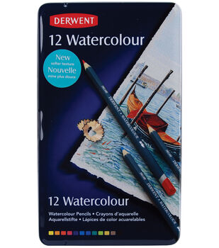 Derwent Water Color Pencil Tin-12PK
