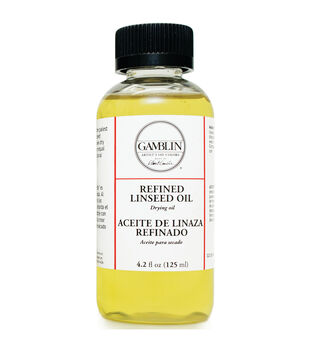Gamblin Artists Colors 4.2 fl. oz. Refined Linseed Oil