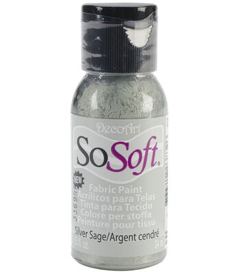 DecoArt SoSoft Fabric Acrylic Paint 1.15 fl.oz