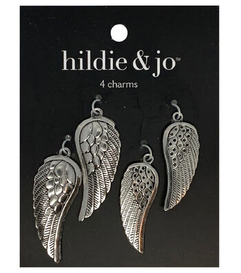 11 different antique silver tone charms The Beautiful girl Collection