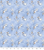 Disney Frozen 2 Flannel Fabric-Olaf Toss, , hi-res