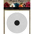 Paper Rose 8 pk Metal Dies-Nesting Circles
