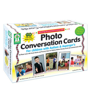 Photo Conversation Cards for Children with Autism & Asperger's