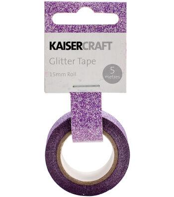 Kaisercraft 0.5''x16.5' Glitter Tape-Lilac