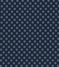 Quilter\u0027s Showcase Cotton Fabric 44\u0022-Navy Gray Ditsy Geometrics
