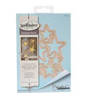 Spellbinders Shapeabilities Etched Die-Cascading Stars, , hi-res