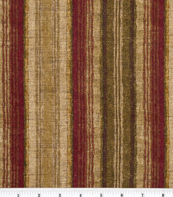 "Home Essentials Lightweight Decor Fabric 45""-Pepita Spice"