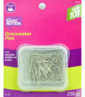 Dritz 1.25\u0022 Sewing 101 Dressmaker Pins 250pcs Size 20