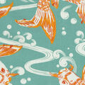 Waverly Sun N Shade Fabric-Kool Koi Tropics